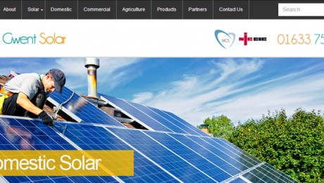 Website & Branding Project – Gwent Solar
