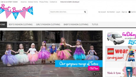 Website Project – Beth's Bow-tique